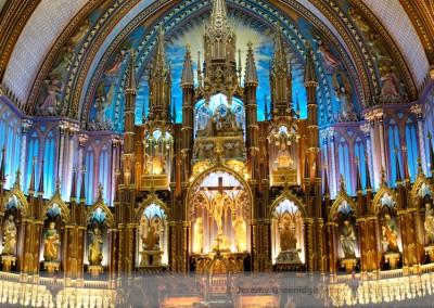 Basilique du Notre Dame - Montreal PQ Canada