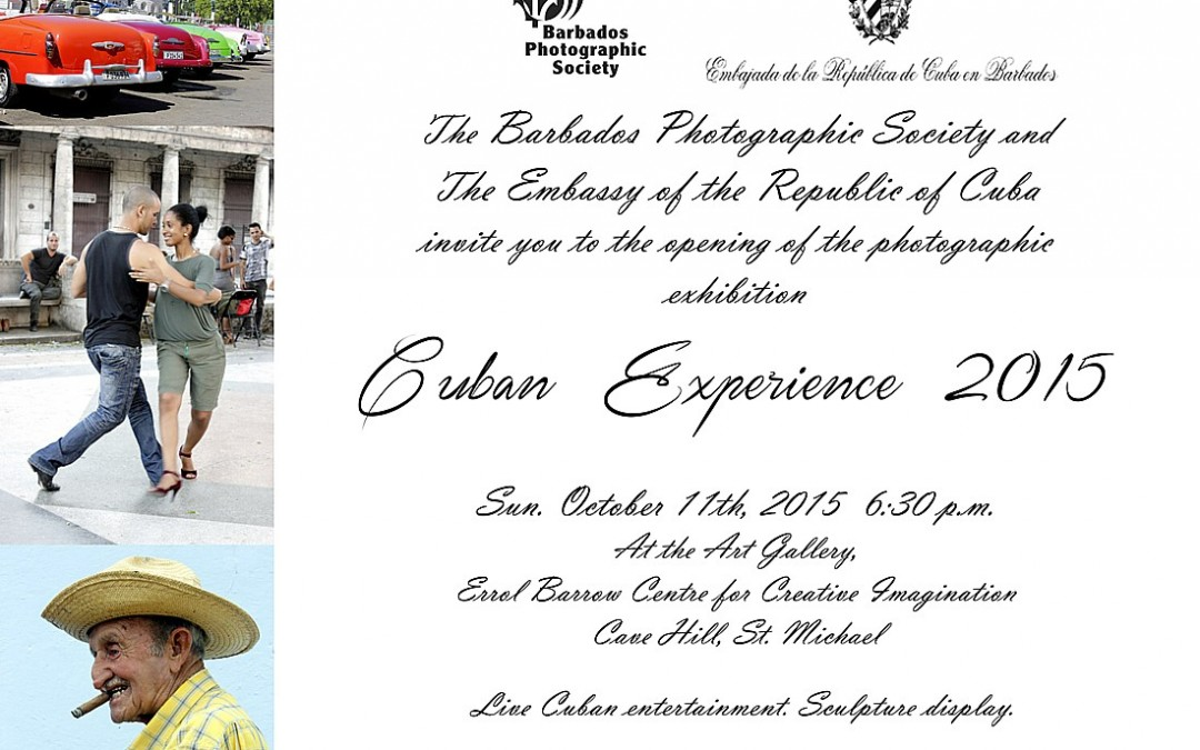Photography Exhibition Invitation